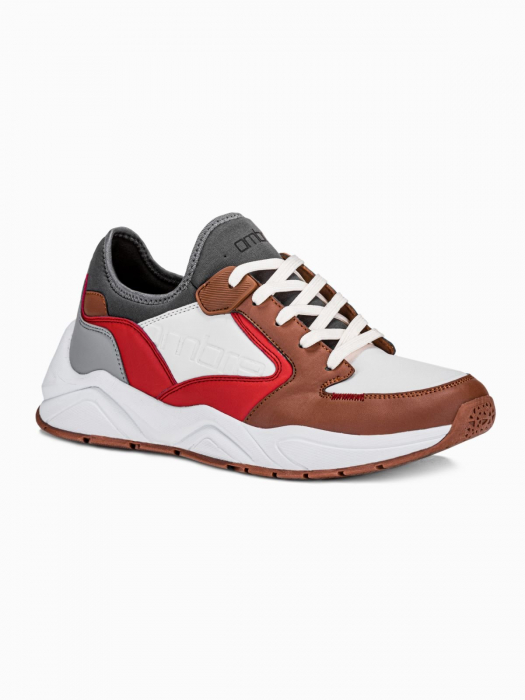 Sneakers casual barbati T363 - maro 0