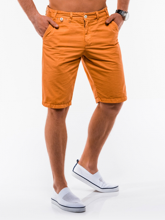 Pantaloni scurti barbati W195 - orange 4