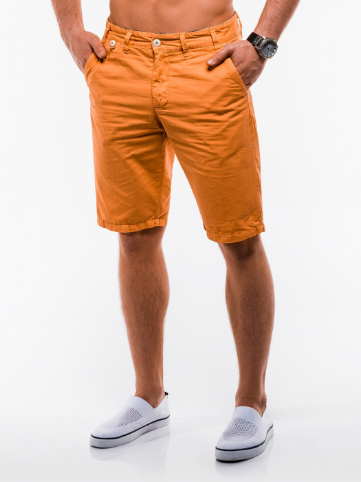 Pantaloni scurti barbati W195 - orange 3