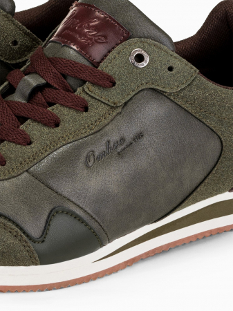 Sneakers casual barbati - T332 - khaki6