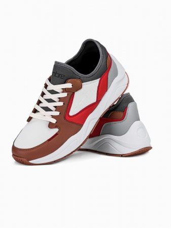 Sneakers casual barbati T363 - maro1