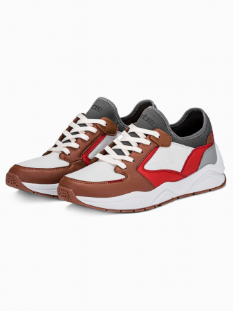 Sneakers casual barbati T363 - maro2
