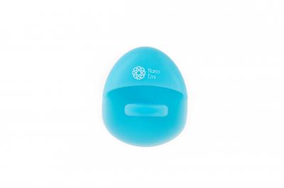 Burete curăţare facială din silicon (baby-blue)4