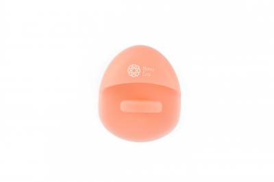 Burete curăţare facială din silicon (somon)1