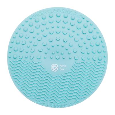 Paleta curatare pensule rotunda din silicon (mint)0
