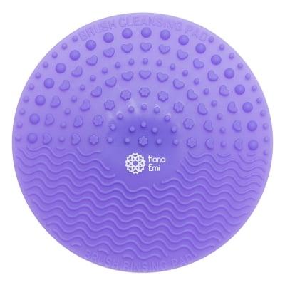 Paleta curatare pensule rotunda din silicon (purple)0