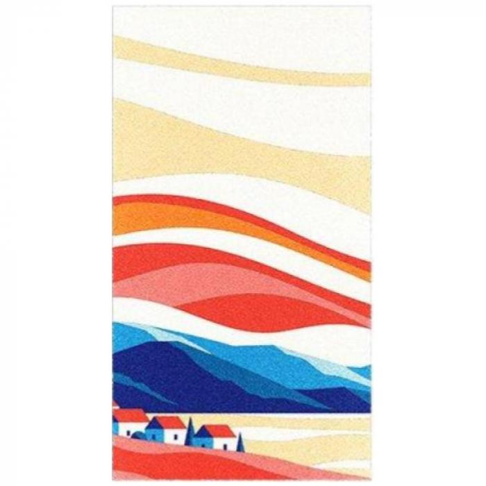 Pictura cu nisip colorat Apus de soare 4