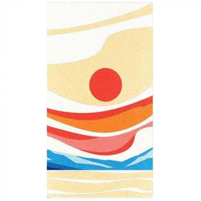 Pictura cu nisip colorat Apus de soare 5
