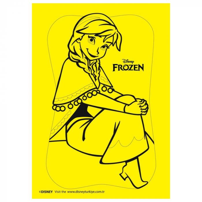 Pictura cu nisip colorat Frozen – Elsa & Anna 3