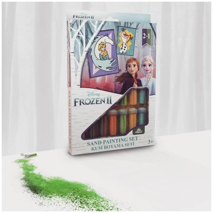 Pictura cu nisip colorat Frozen II - Elsa & Olaf [1]