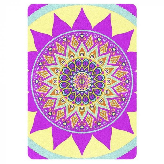 Pictura cu nisip colorat Mandala, Relax 1