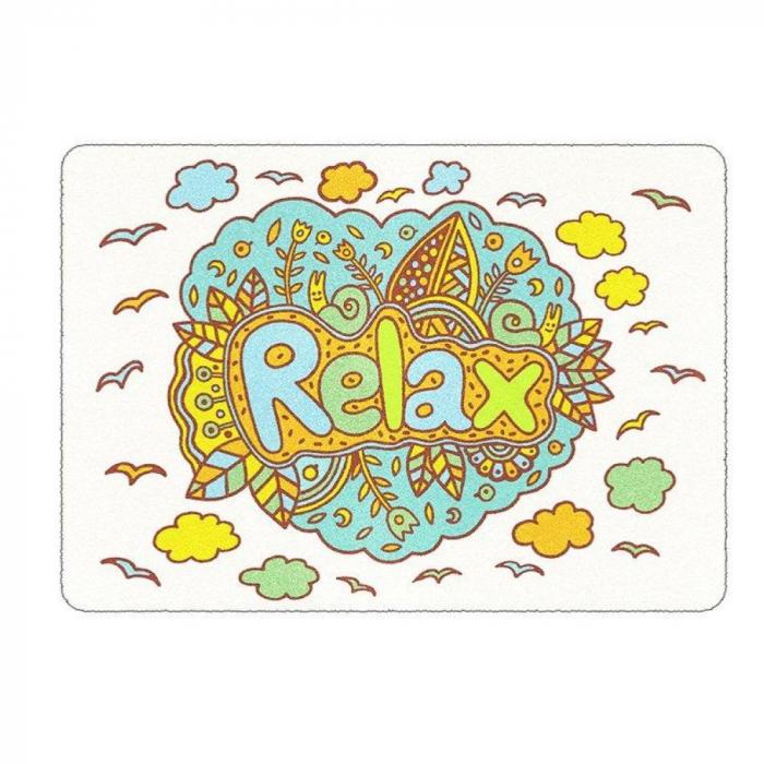 Pictura cu nisip colorat Mandala, Relax 2