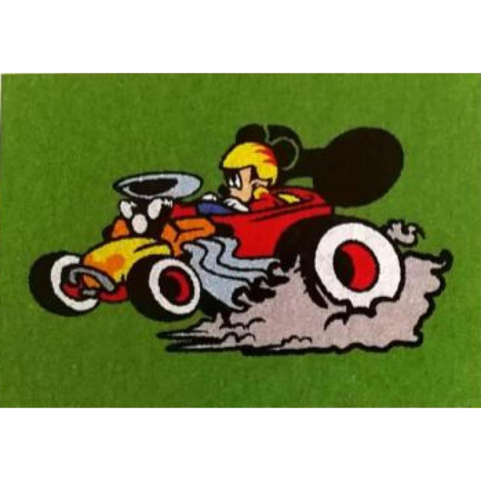Pictura cu nisip colorat Mickey & Minnie Mouse la curse [2]
