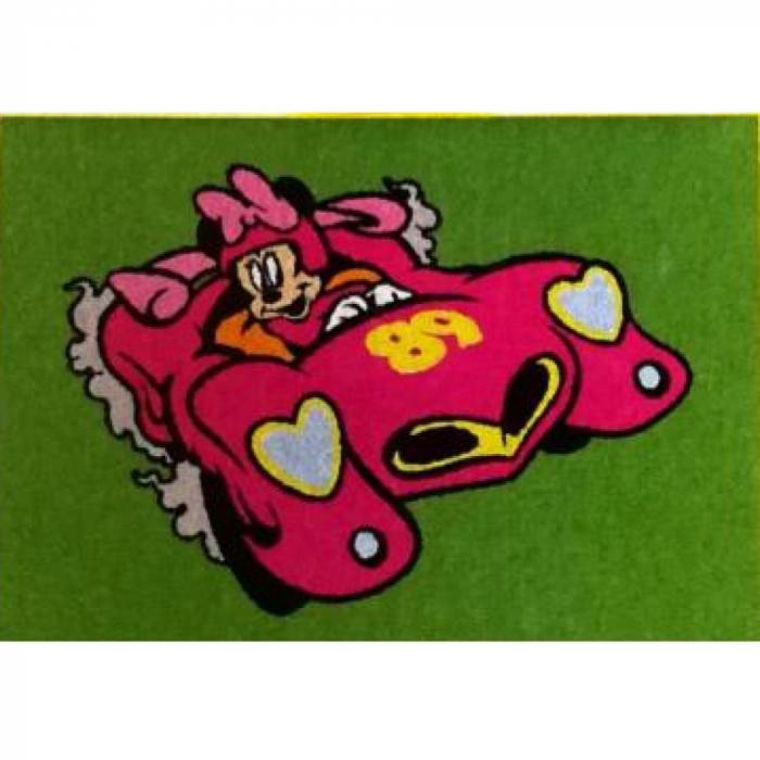 Pictura cu nisip colorat Mickey & Minnie Mouse la curse [3]