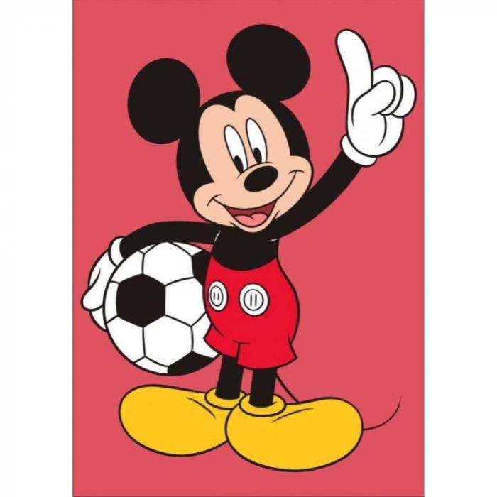 Pictura cu nisip colorat Mickey Mouse Fotbalist [0]