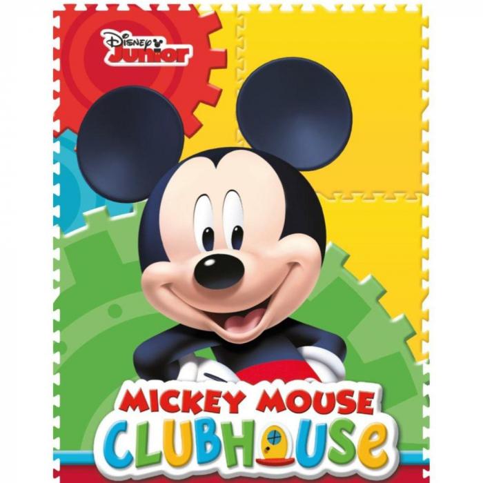 Pictura cu nisip colorat Mickey Mouse Fotbalist [2]