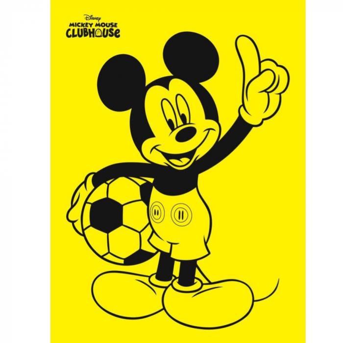 Pictura cu nisip colorat Mickey Mouse Fotbalist [1]
