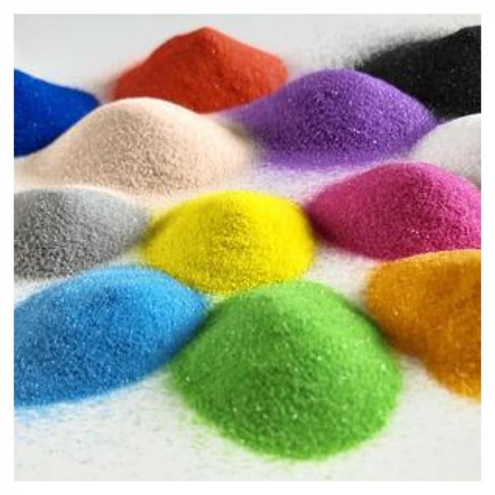 Pictura cu nisip colorat Ponei 5