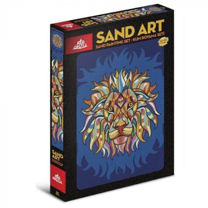 Pictura cu nisip colorat Racnetul Leului 0
