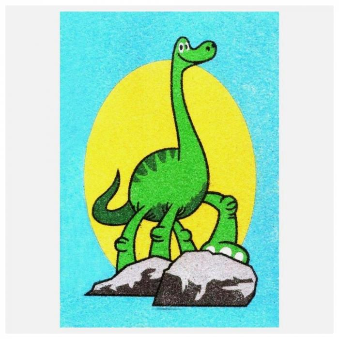 Pictura cu nisip colorat Bunul dinozaur – Arlo & Spot [2]