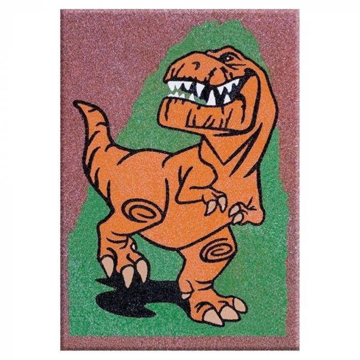 Pictura cu nisip colorat Bunul dinozaur – Spot-Arlo & Butch [2]