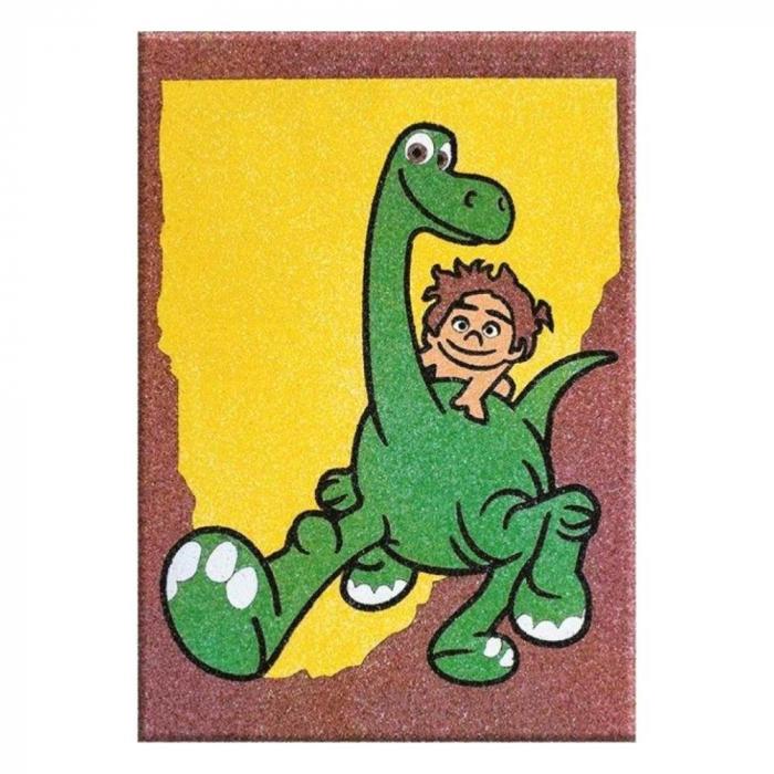 Pictura cu nisip colorat Bunul dinozaur – Spot-Arlo & Butch [1]