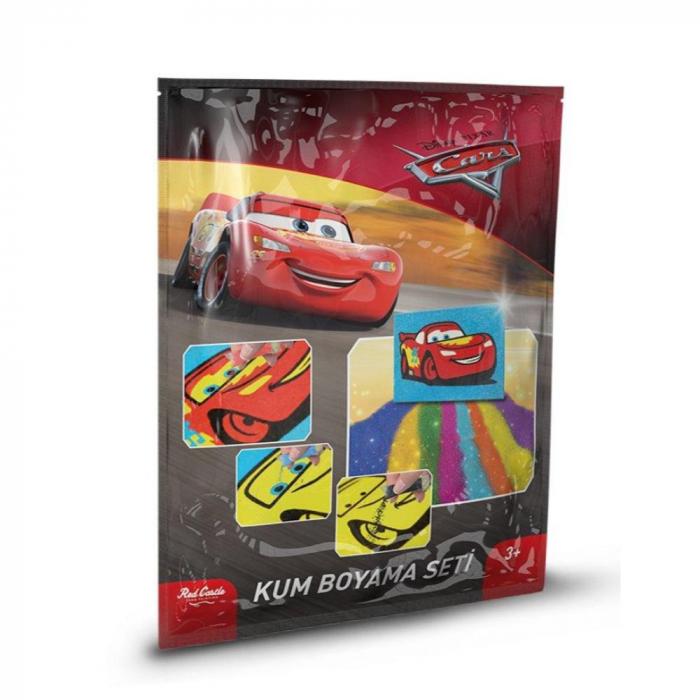 Pictura cu nisip colorat Cars 0