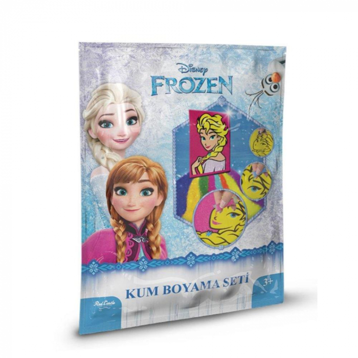 Pictura cu nisip colorat Frozen - Elsa [0]
