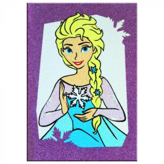 Pictura cu nisip colorat Frozen – Elsa & Olaf [2]