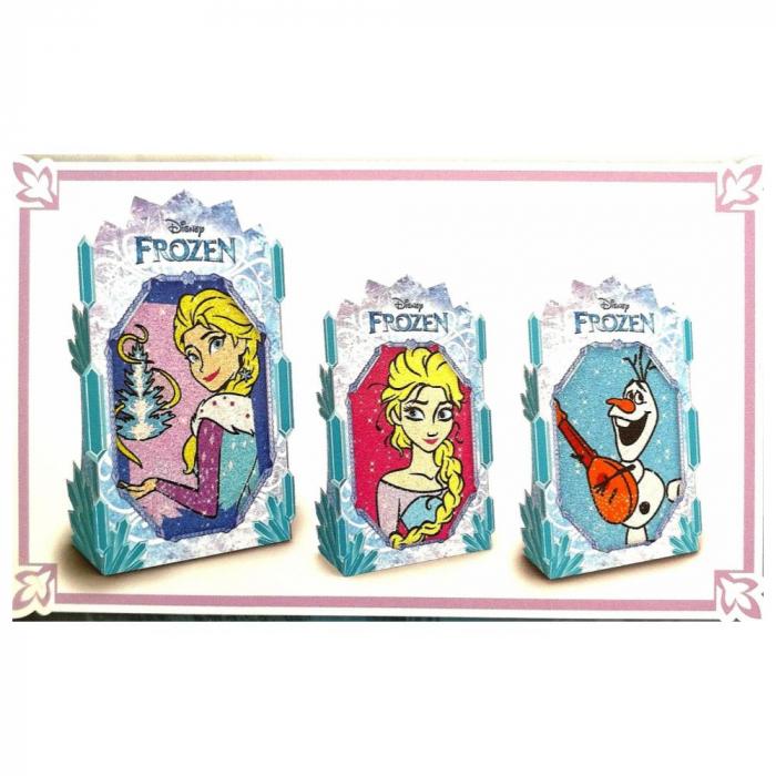 Pictura cu nisip colorat Frozen – Elsa & Olaf 1