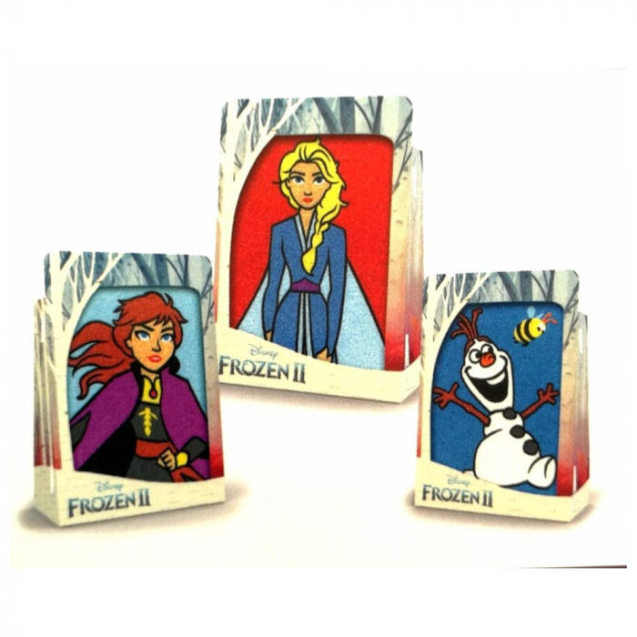 Pictura cu nisip colorat Frozen II – Elsa & Anna & Olaf 2