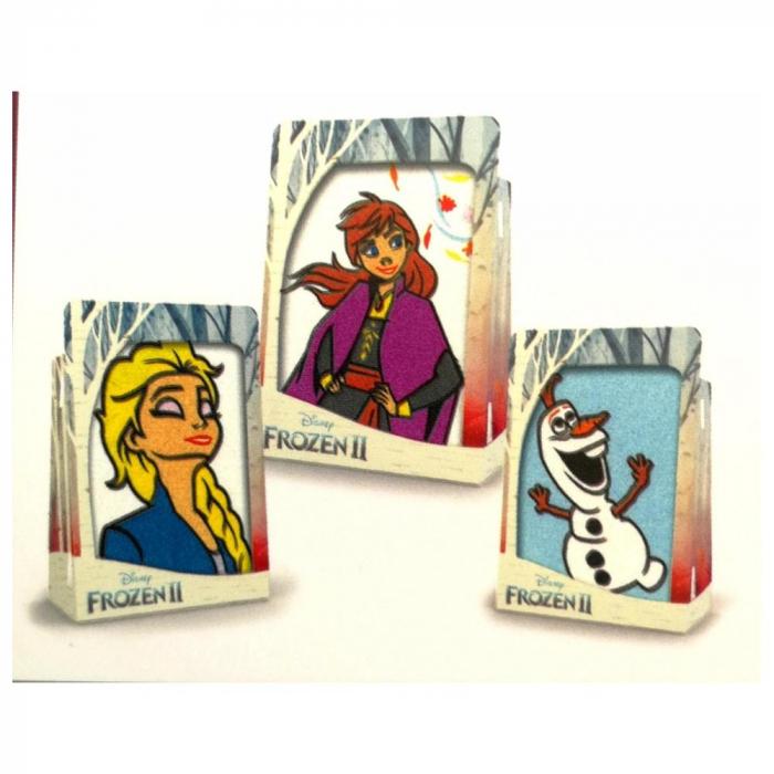 Pictura cu nisip colorat Frozen II – Elsa & Anna & Olaf II 1