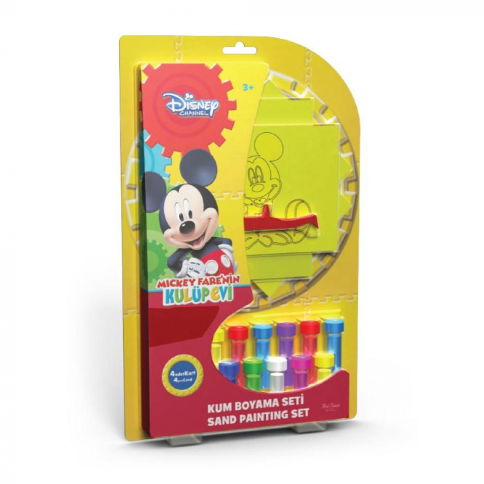 Pictura cu nisip colorat Mickey Mouse 0