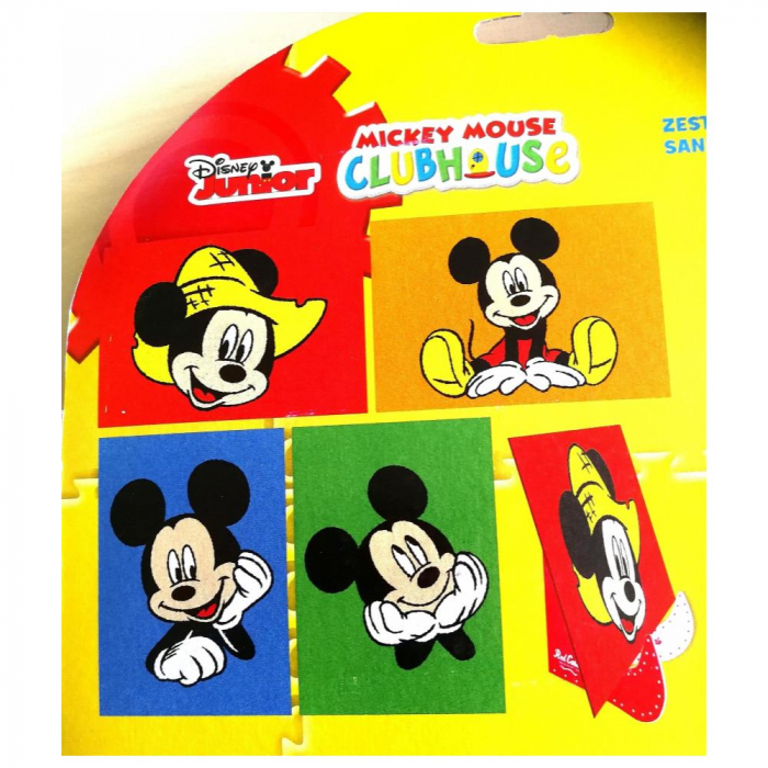 Pictura cu nisip colorat Mickey Mouse 1