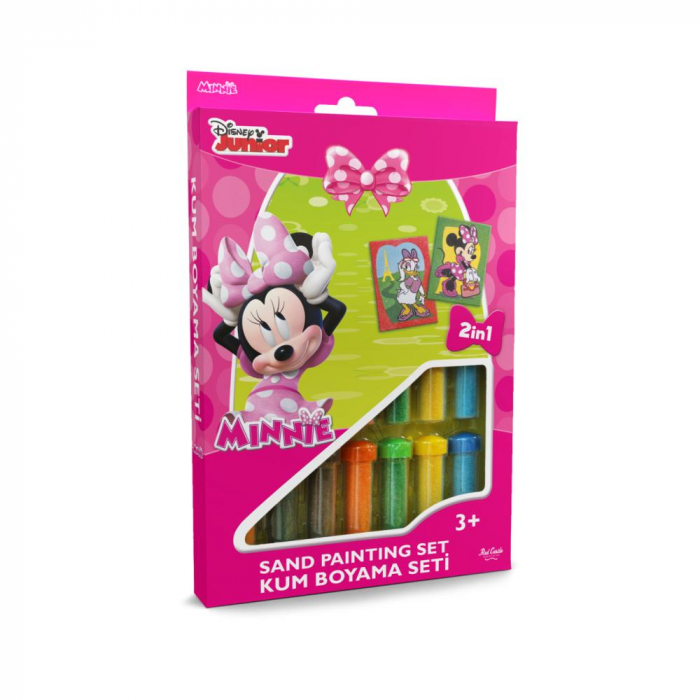 Pictura cu nisip colorat Minnie Mouse & Daisy Duck [0]