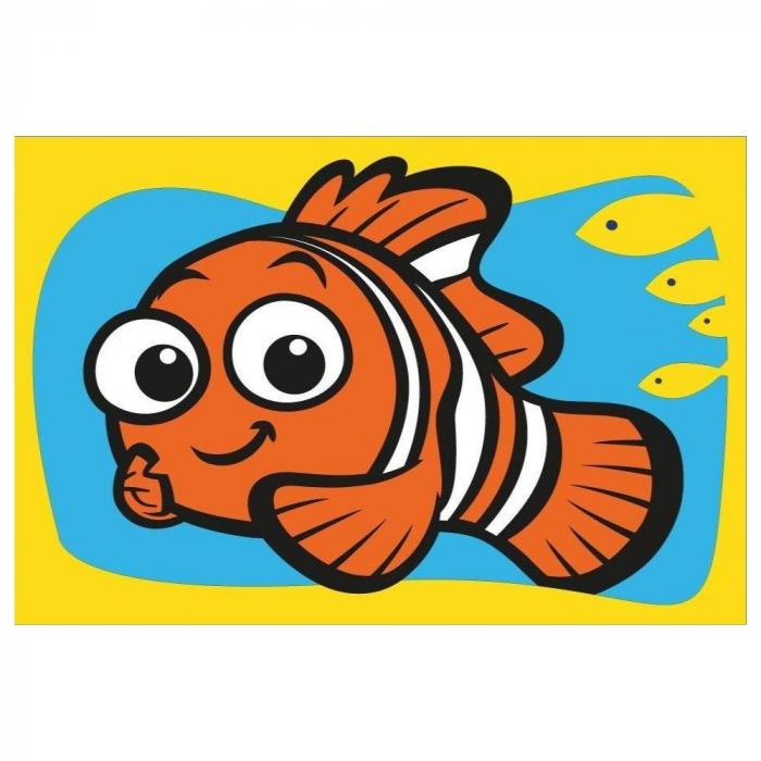 Pictura cu nisip colorat Nemo & Squirt [4]