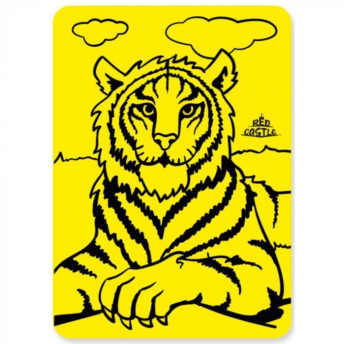 Pictura cu nisip colorat Tigru [1]