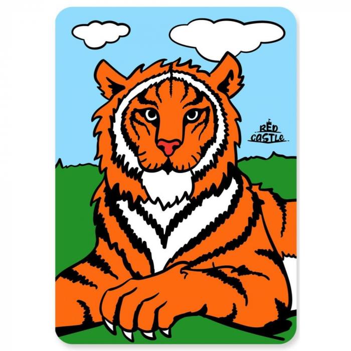 Pictura cu nisip colorat Tigru [0]