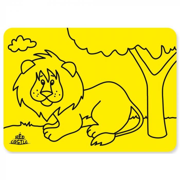 Pictura cu nisip colorat Tigru 1