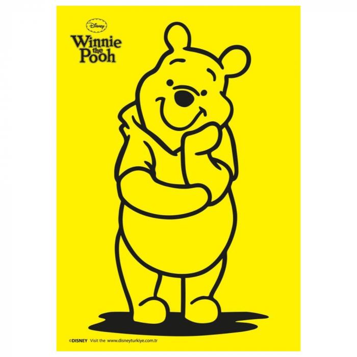 Pictura cu nisip colorat Winnie The Pooh & Piglet & Tigger & Eeyore [1]