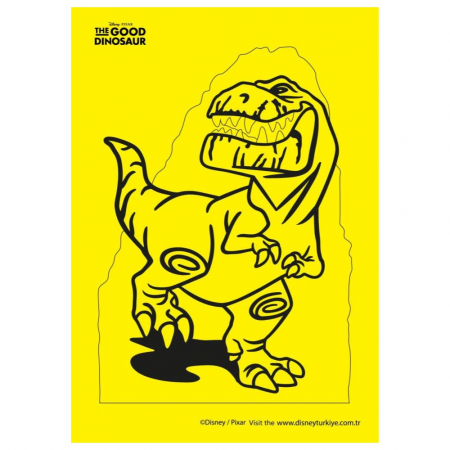 Pictura cu nisip colorat Bunul dinozaur – Spot-Arlo & Butch [4]