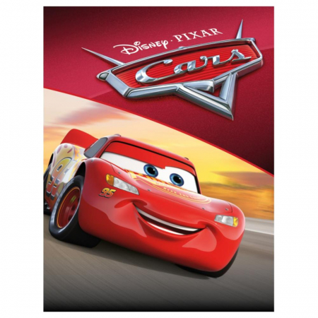 Cars 3 - Fulger McQueen & Jackson Storm II, Disney, Set creativ pictura cu nisip colorat, 2 planse 16,5 x 23,5 cm, 15 tuburi nisip multicolor, 1 penseta, 2 folii protectie, + 3 ani2