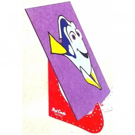 Dori & Nemo & Squirt, Disney, Set creativ pictura cu nisip colorat, 4 planse 11,75 x 16,5 cm, 4 suporti carton, 16 tuburi nisip multicolor, 1 penseta, 4 folii protectie, + 3 ani6