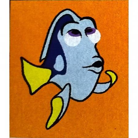 Dori & Nemo & Squirt, Disney, Set creativ pictura cu nisip colorat, 4 planse 11,75 x 16,5 cm, 4 suporti carton, 16 tuburi nisip multicolor, 1 penseta, 4 folii protectie, + 3 ani4