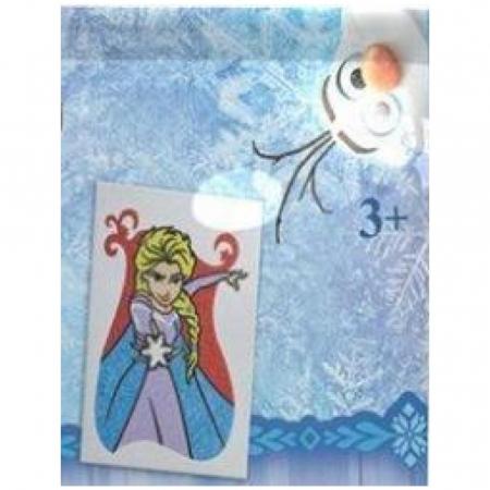 Frozen - Elsa, Disney, Set creativ pictura cu nisip colorat, 1 plansa 16,5 x 23,5 cm, 8 tuburi nisip multicolor, 1 penseta, 1 folie protectie, + 3 ani1