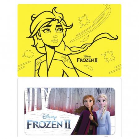 Pictura cu nisip colorat Frozen II - Elsa & Anna [10]