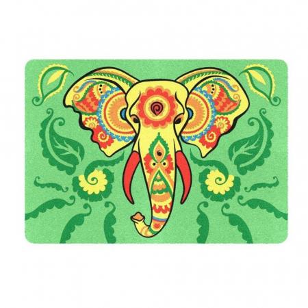 Leu, Elefant, Maimuta, Set creativ, pictura cu nisip colorat, 3 planse 23,5 x 33 cm, 45 tuburi nisip multicolor, 3 pensete, 3 folii protectie, pentru 10 – 99 ani2