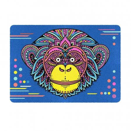 Leu, Elefant, Maimuta, Set creativ, pictura cu nisip colorat, 3 planse 23,5 x 33 cm, 45 tuburi nisip multicolor, 3 pensete, 3 folii protectie, pentru 10 – 99 ani3