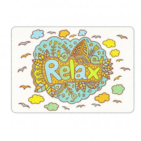 Mandala, Relax, Set creativ, pictura cu nisip colorat, 3 planse 23,5 x 33 cm, 45 tuburi nisip multicolor, 3 pensete, 3 folii protectie, pentru 10 – 99 ani2