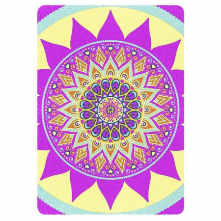 Pictura cu nisip colorat Mandala [2]